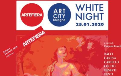 2020, WHITE NIGHT / ART CITY Bologna / ARTEFIERA